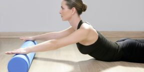 Функциональная тренировка с массажным валиком для ваших мышц и фасций