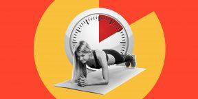 5 жиросжигающих тренировок, которые укладываются всего в 10 минут