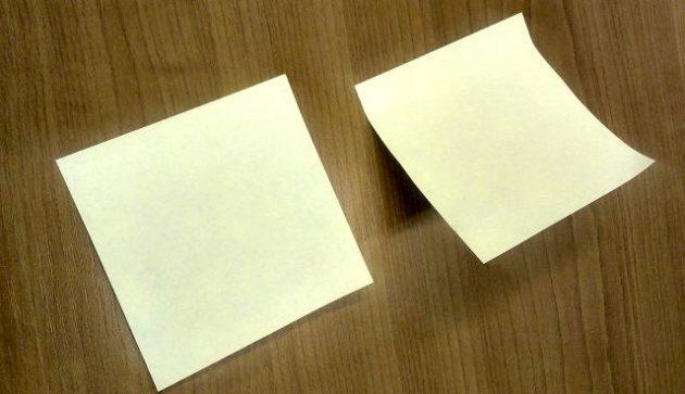 Простой секрет правильного использования листков для заметок
