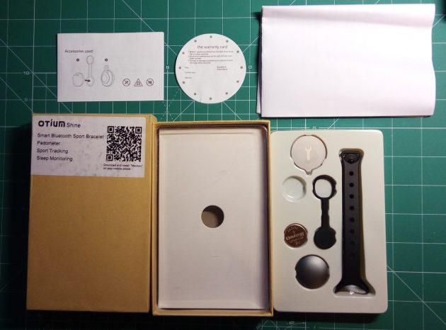 Otium Shine: комплект поставки
