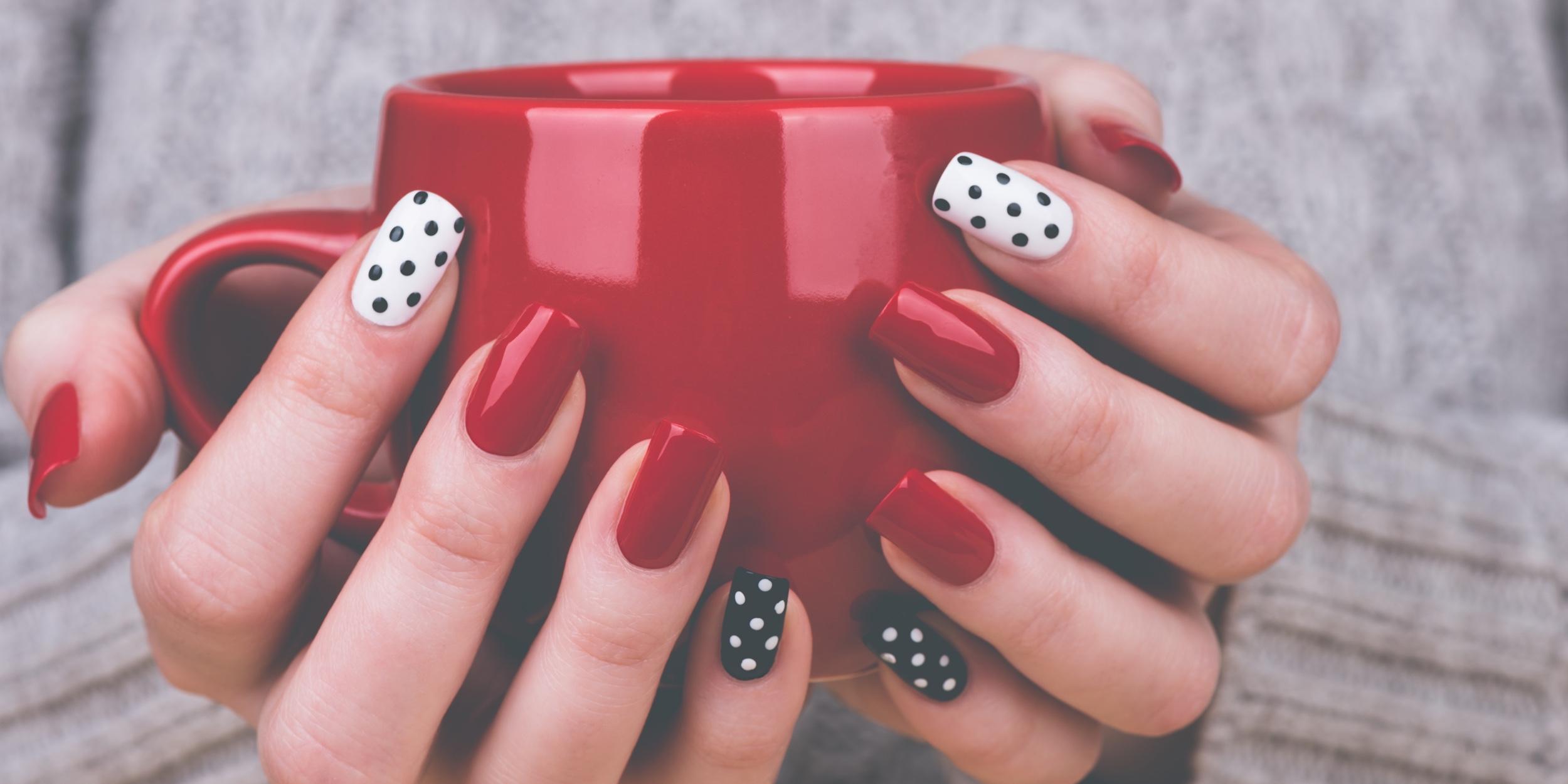 Как сделать красивый, красочный дизайн ногтей