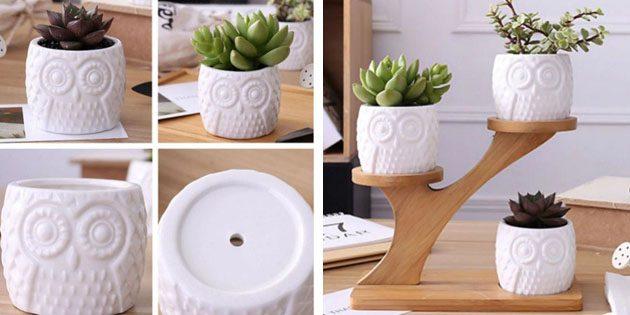 Керамические горшки с Aliexpress домашний сад