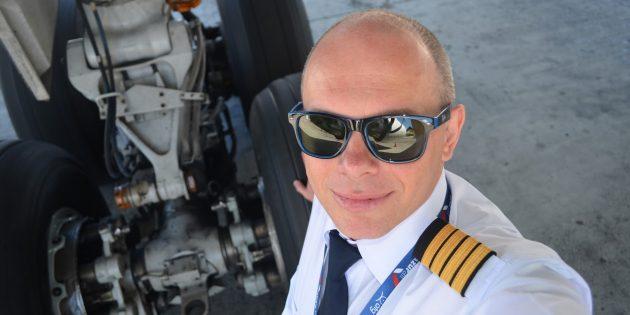 Андрей Громоздин, пилот «Боинга»