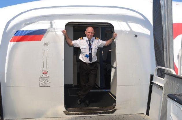 Андрей Громоздин, пилот «Боинга», о входе в кабину пилота