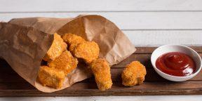 Как приготовить полезные куриные наггетсы
