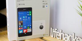 ОБЗОР: Lumia 950 XL — бизнес-флагман, который заменит компьютер