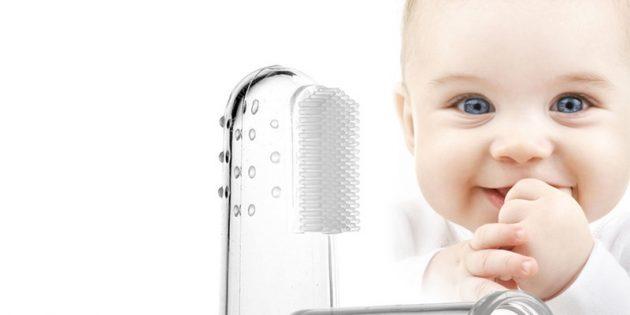 100крутых вещей дешевле 100рублей: зубная щётка для самых маленьких