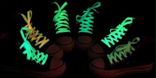 100крутых вещей дешевле 100рублей: светящиеся шнурки