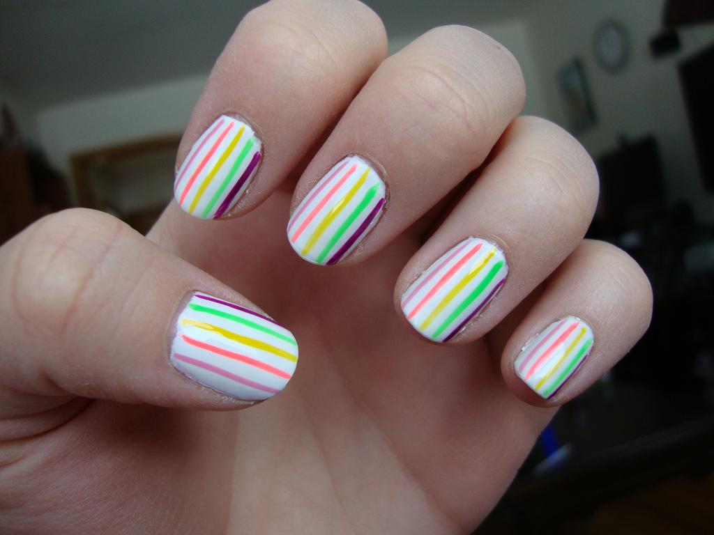 Как сделать прозрачные ногти в домашних условиях фото 958