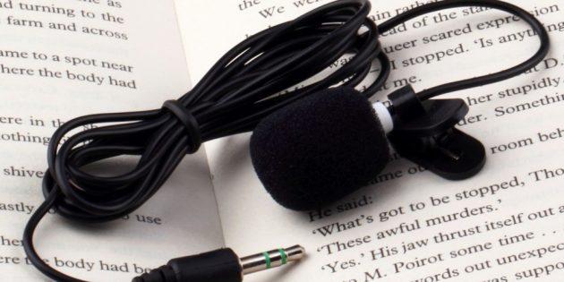 100крутых вещей дешевле 100рублей: петличный микрофон