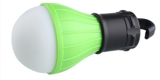 100крутых вещей дешевле 100рублей: лампа для кемпинга
