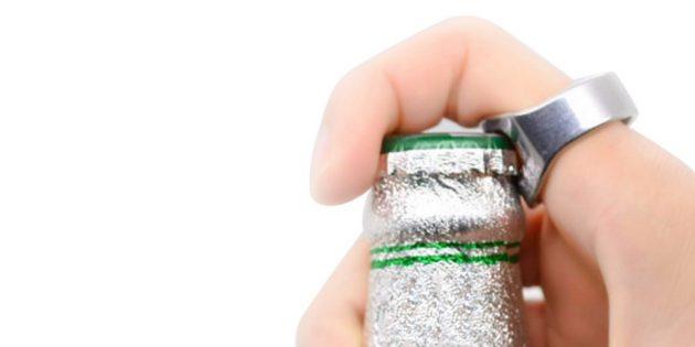 100крутых вещей дешевле 100рублей: кольцо-открывалка