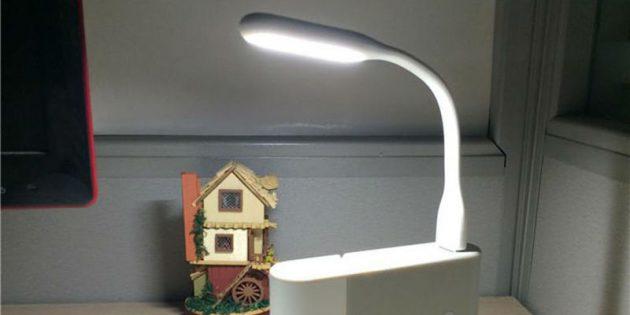 100крутых вещей дешевле 100рублей: USB-светильник