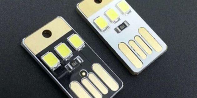 100крутых вещей дешевле 100рублей: компактный USB-светильник