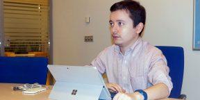 Рабочие места: Михаил Черномордиков, евангелист Microsoft
