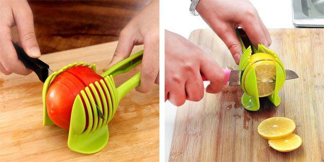 Держатель для нарезки овощей
