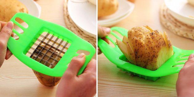 Слайсер для картофеля фри