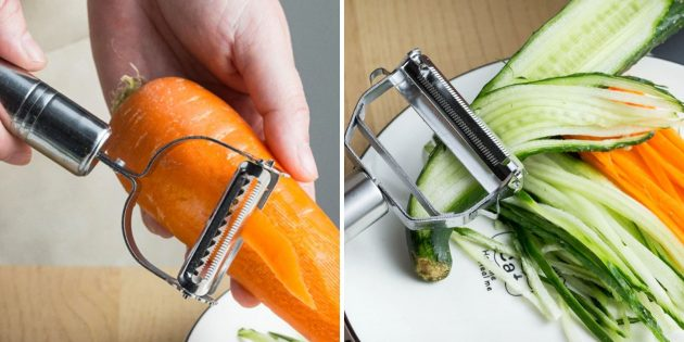 аксессуары для кухни: слайсер для овощей
