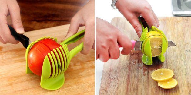Держатель для нарезки овощей и фруктов
