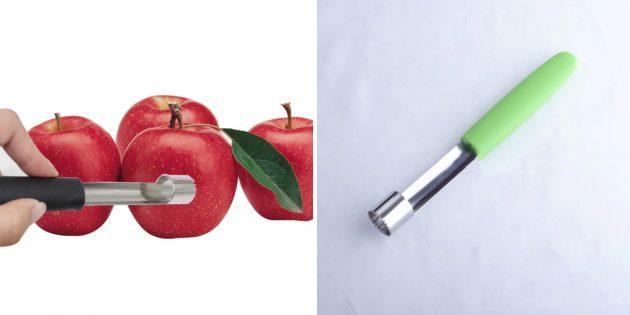 Экстрактор сердцевины яблок