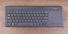 ОБЗОР: Microsoft All-in-One — неубиваемая и удобная клавиатура для тех, кто не любит вставать с дивана