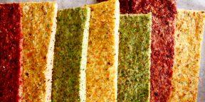 РЕЦЕПТЫ: Овощной хлеб из брокколи, моркови и свёклы