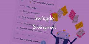 Swingdo и Swingmail — эффективное управление задачами и почтой на iOS и Mac
