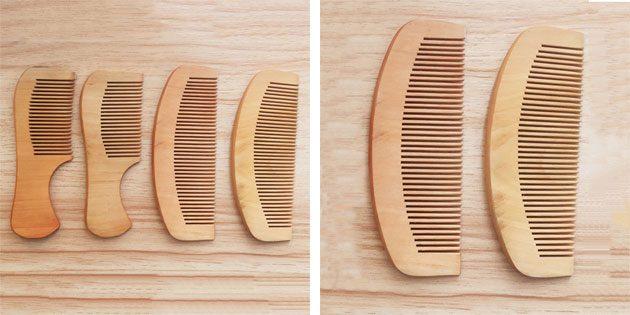 100крутых вещей дешевле 100рублей: деревянный гребень