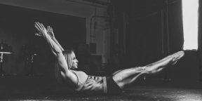 ВИДЕО: Идеальное упражнение для пресса, которое заставит работать каждую мышцу