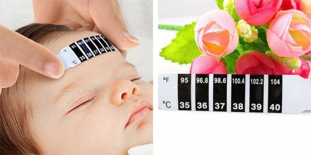 наклейка-термометр