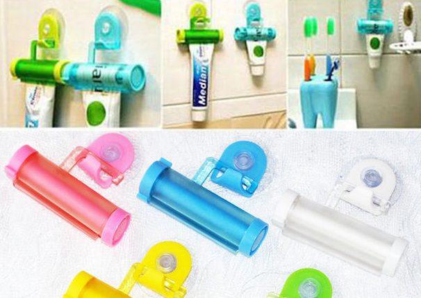 Находки AliExpress: держатель для зубной пасты, брелок и детские столовые приборы
