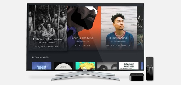 BitTorrent Now для Apple TV