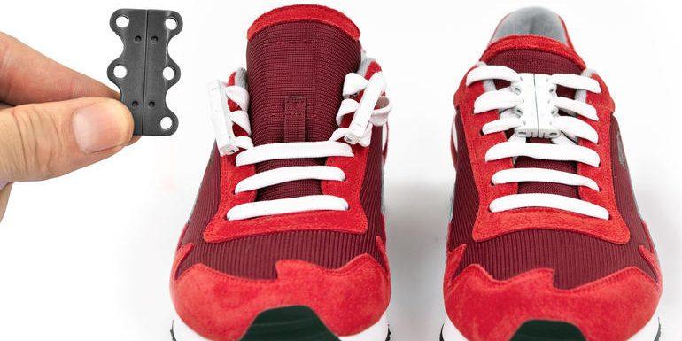 Магнитные застёжки для шнурков