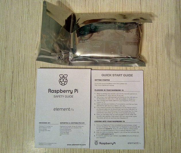 Raspberry Pi 3: комплектация
