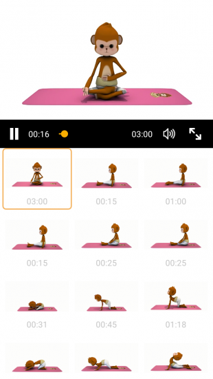 Yoga Monkey exercises