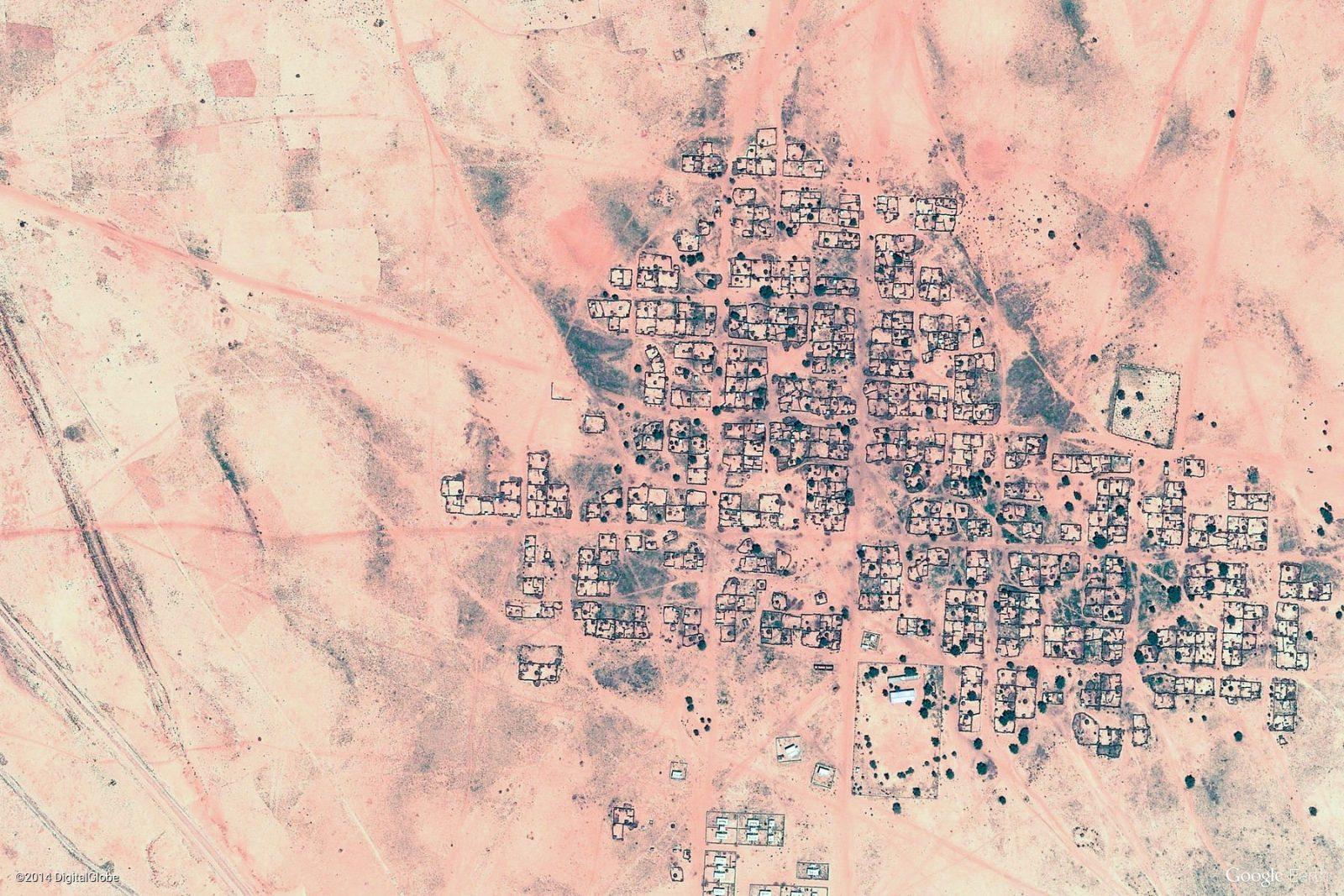 Карты шпионской фотосъемки со спутника