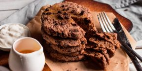 Идеи для завтрака: протеиновые оладьи