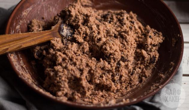 Идеи для завтрака: протеиновые оладьи. Готовое тесто должно быть плотным