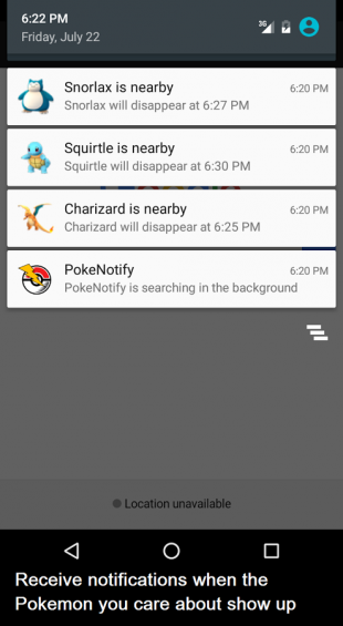 Pokemon GO на Android