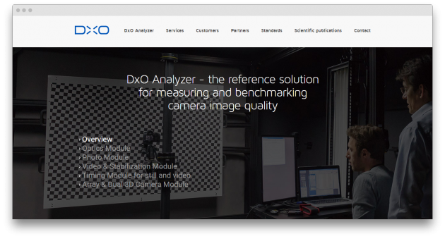 DxO Analyzer