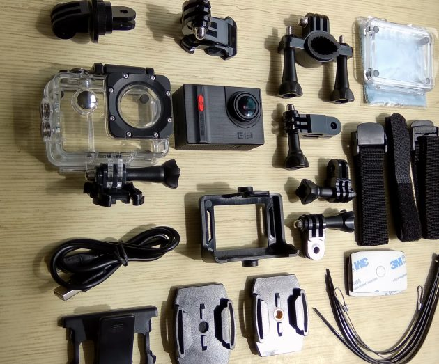 Elephone Ele Cam Explorer Pro: комплектация