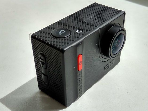 Elephone Ele Cam Explorer Pro: фронтальная панель