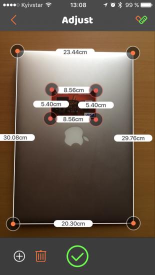 VisualRuler позволяет измерить предметы