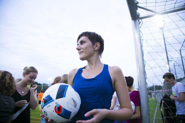 «Я создаю себя»: футбол