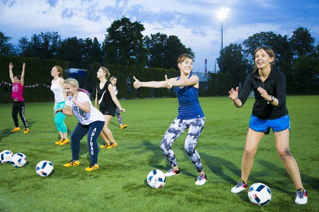 «Я создаю себя»: работа с мячом