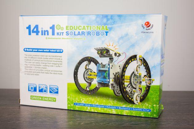 Детский конструктор Solar 14-in-1