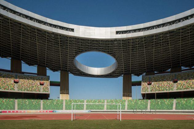 Стадион в Кангбаши