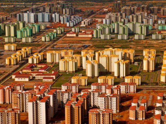Киламба: пустые районы