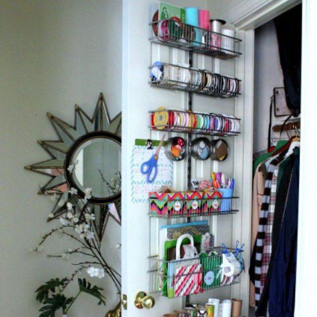 Дизайн маленькой квартиры: дверь чулана