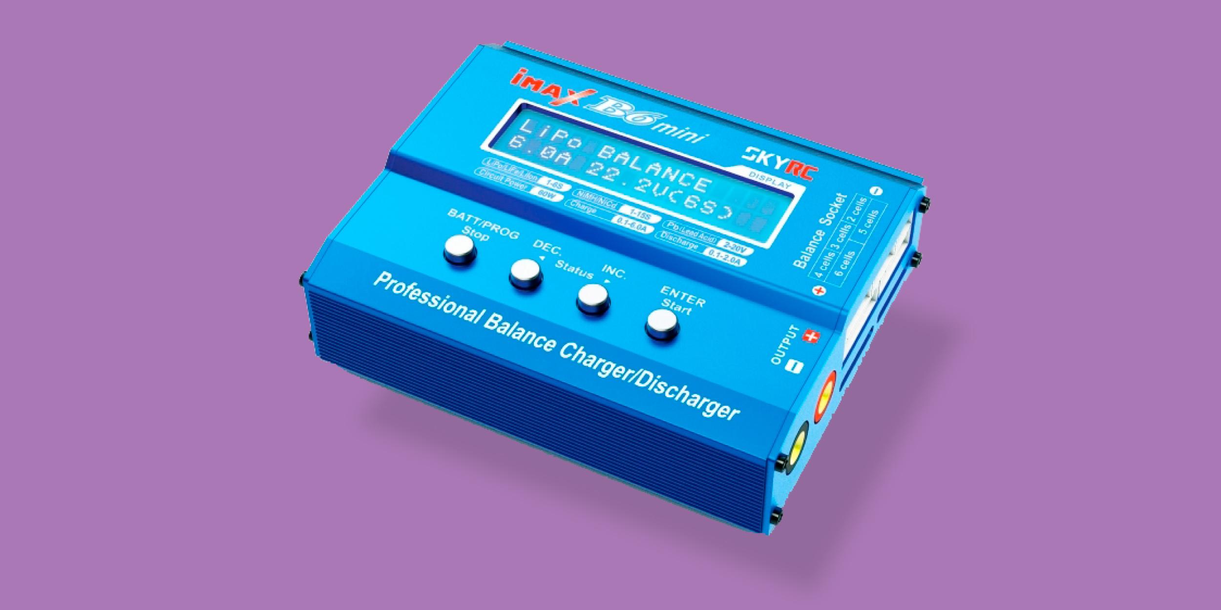 SkyRC iMax B6 mini — универсальный домашний зарядник